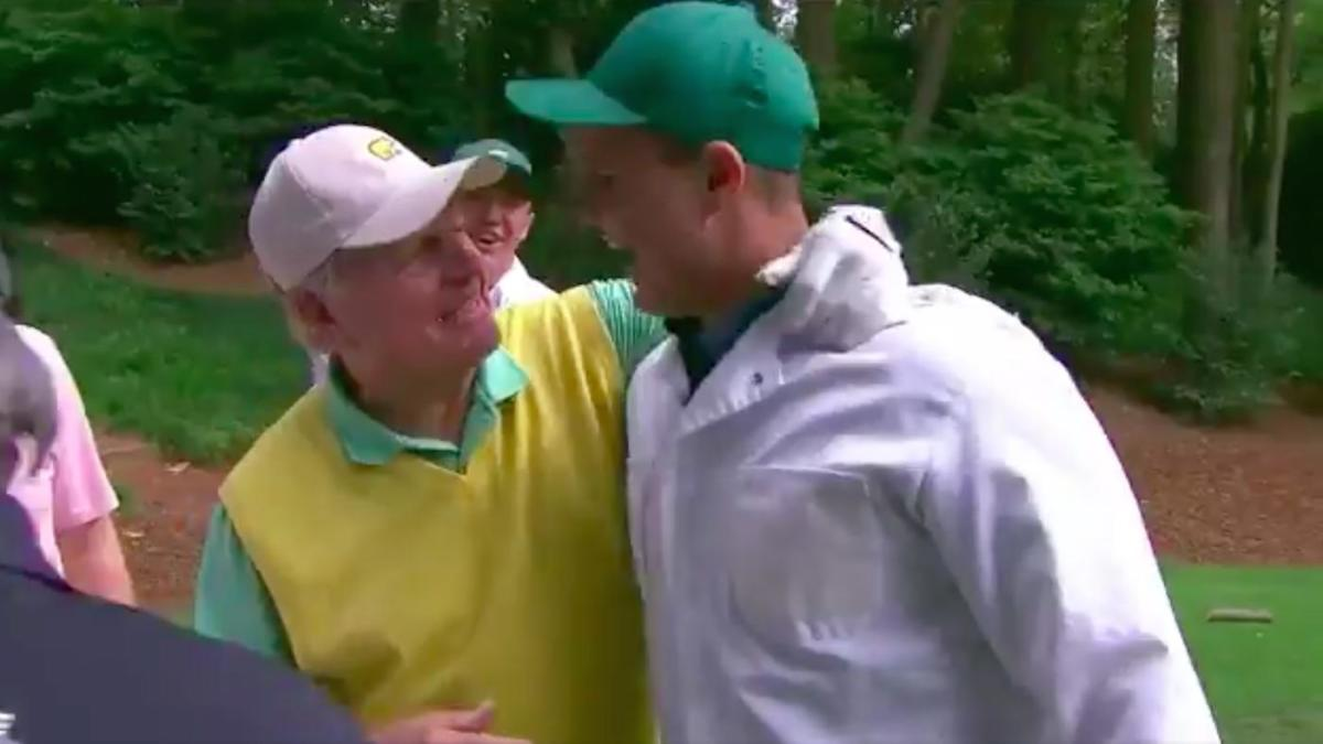 WATCH: Jack Nicklaus' grandson hits a hole-in-one at the Masters Par