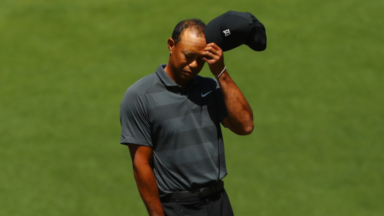 tiger woods masters score   u0026 39 up and down u0026 39  round 1 in 2018