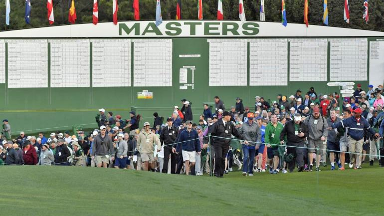 2018 masters leaderboard  live coverage  tiger woods score