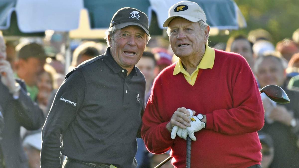 Masters 2019: Jack Nicklaus, Gary Player start event with
