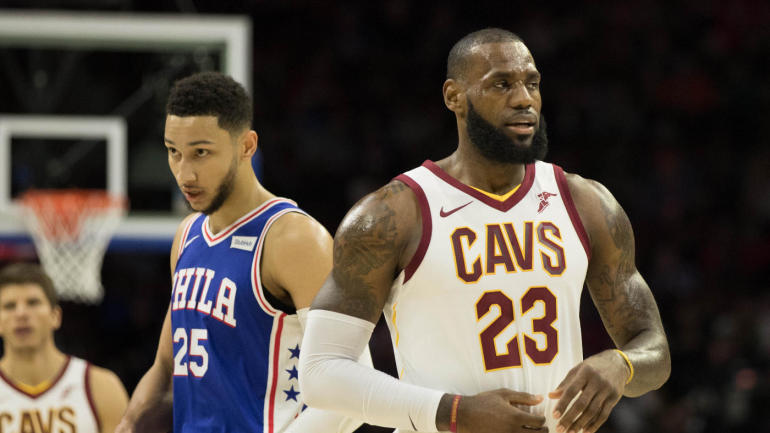 f7f603e3541 Lakers  LeBron James to co-produce TV comedy series inspired by life of  76ers  Ben Simmons - CBSSports.com