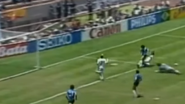 FIFA announced fan vote results for the best World Cup goal of all time, but it's not the right one
