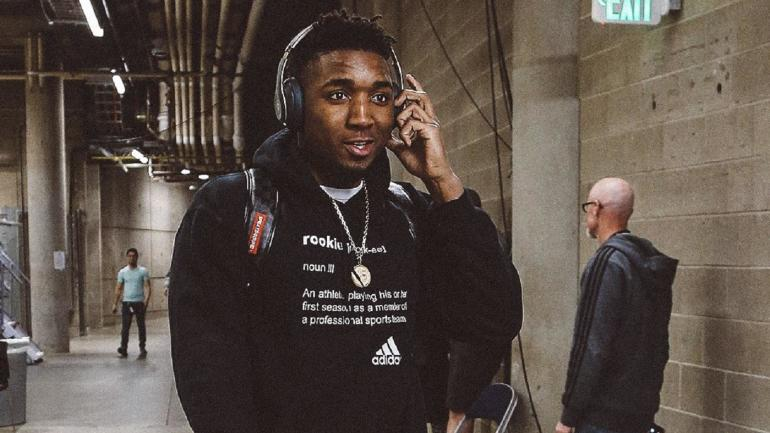 Donovan Mitchell Wears Humorous Hoodie In Response To Ben Simmons
