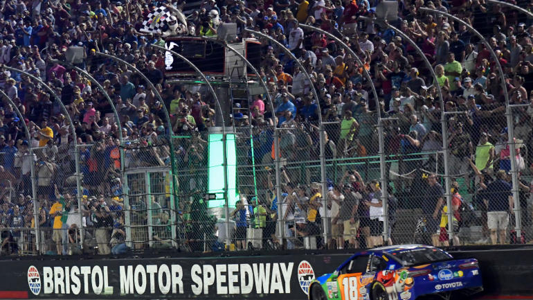 NASCAR at Bristol starting lineup, new time, TV schedule, live stream: Kyle Busch starting on pole for Food City 500