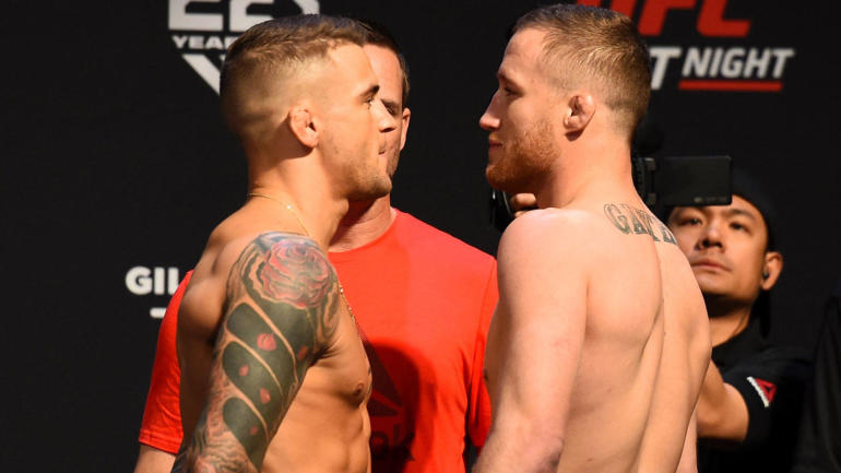 Watch UFC on Fox 29, Dustin Poirier vs. Justin Gaethje online: Live stream, start time