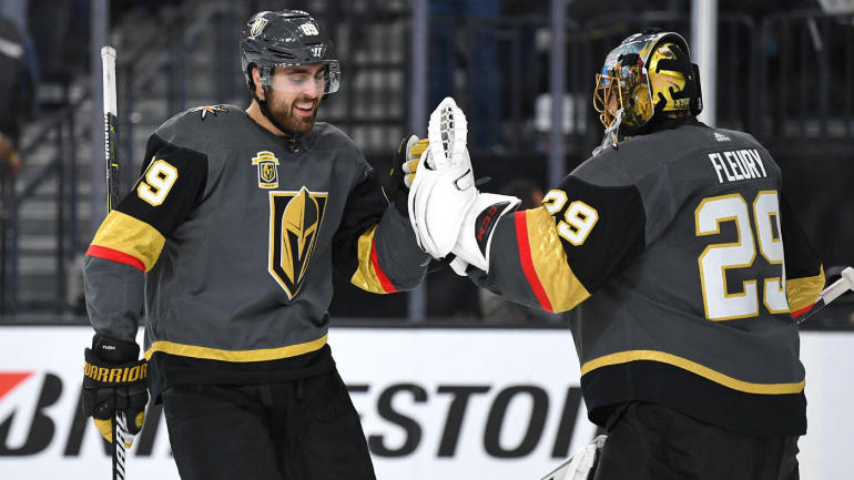 NHL Playoffs 2018 Friday highlights, scores, updates, news: Golden Knights beat Kings in double overtime marathon