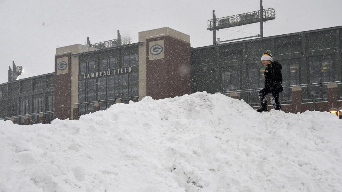 AFC, NFC Championship weather: Snow, rain could affect Packers vs. Buccaneers and Chiefs vs. Bills - CBS Sports