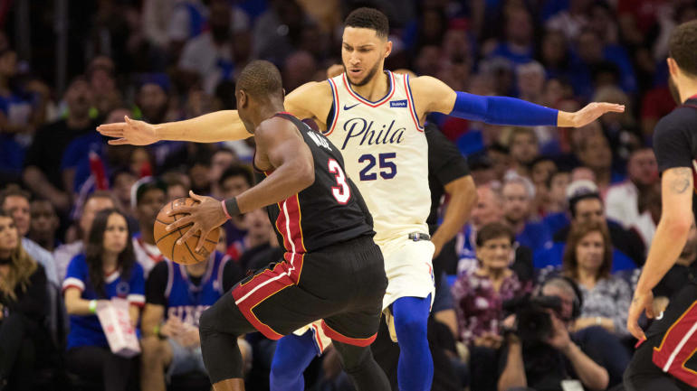 2018 NBA playoffs: Live updates, schedule, game scores, highlights for Heat vs. 76ers and Spurs vs. Warriors