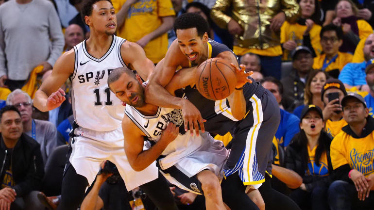 Warriors answer Spurs' physical counterpunch in Game 2 the ...