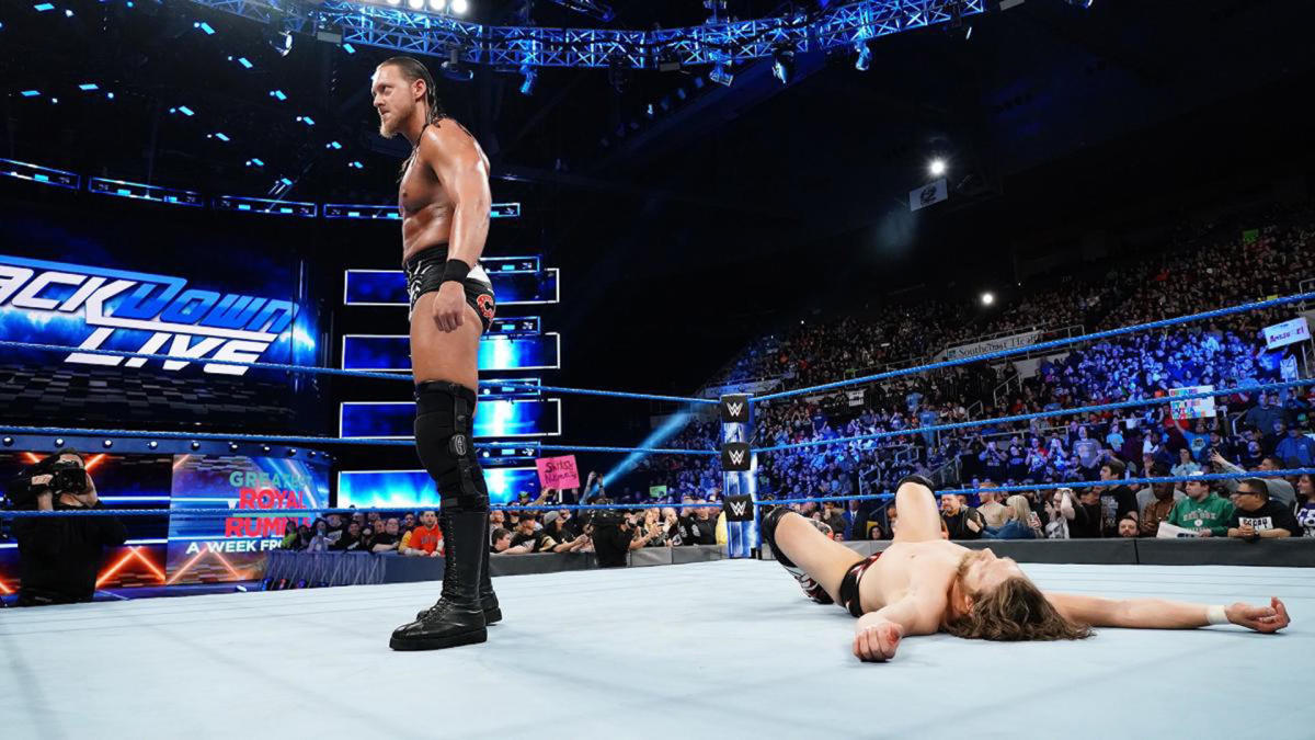 what channel is smackdown on