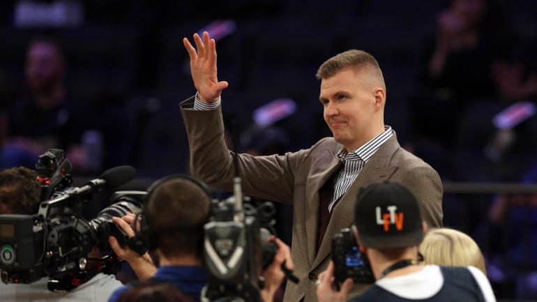 Kristaps Porzingis injury update: Knicks star has resumed on-court activity, but no timetable for return