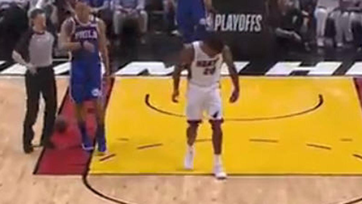 Heat vs. 76ers: Justise Winslow fined $15K for stepping on Joel Embiid's mask in Game 3