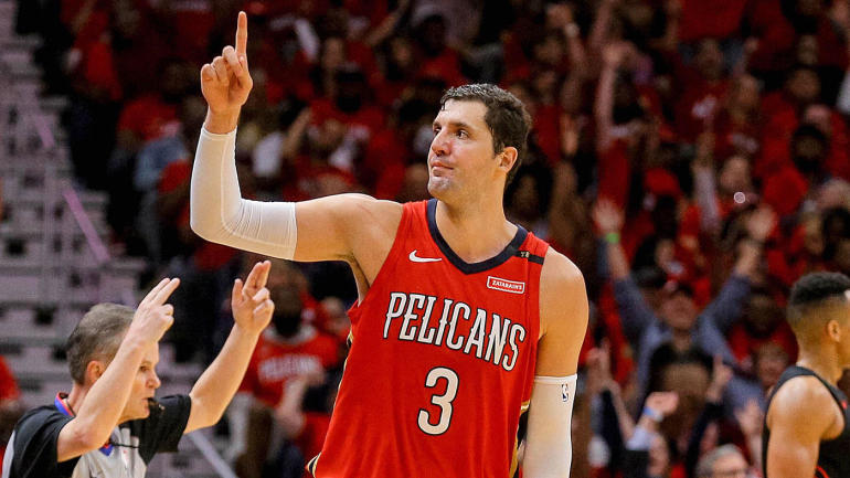 2018 Fantasy Football Rankings >> NBA Playoffs 2018: Pelicans have unleashed Nikola Mirotic, and it's burying the Blazers ...