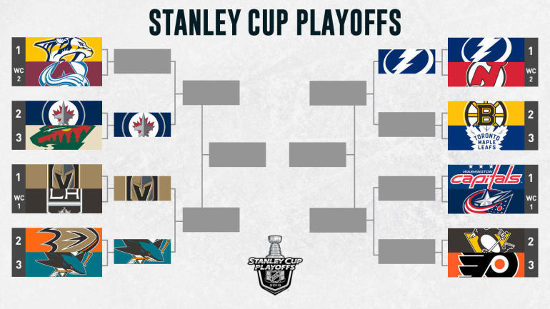 NHL Playoffs Bracket 2018: Lightning eliminate Devils, 12 teams left on road to Stanley Cup ...