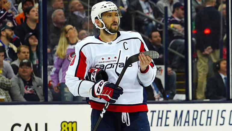 d56ca8e2334 Capitals  Alex Ovechkin will skip the 2019 All-Star Game to rest for the  second half - CBSSports.com