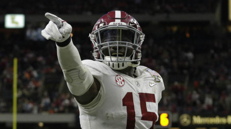 c35294754 2018 NFL Draft  Jaguars add Ronnie Harrison to imposing defense in Round 3  - CBSSports.com