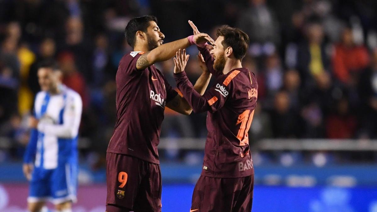 Luis Suarez, Neymar - Neymar Photos - FC Barcelona v ...  |Barcelona- Villarreal