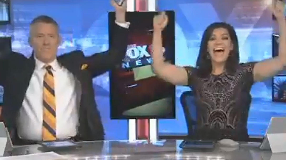 Impartial? Las Vegas news anchors go nuts on live TV after