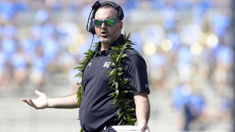 Washington State hires Hawaii's Nick Rolovich to succeed Mike Leach as coach