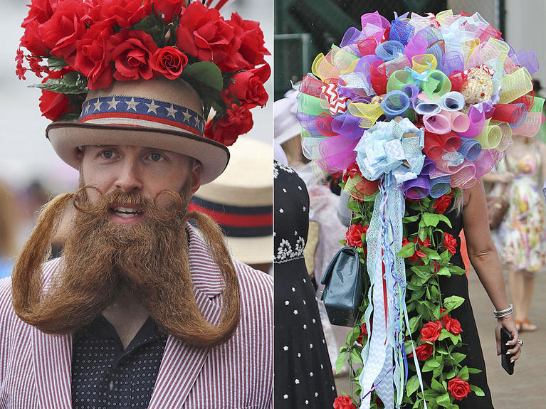 98320be6bb04b Kentucky Derby 2018  The biggest hats
