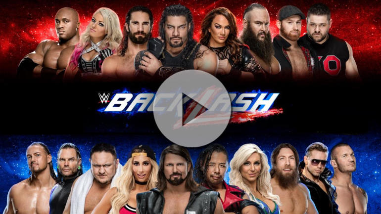 2018 WWE Backlash live stream, watch online, start time ...