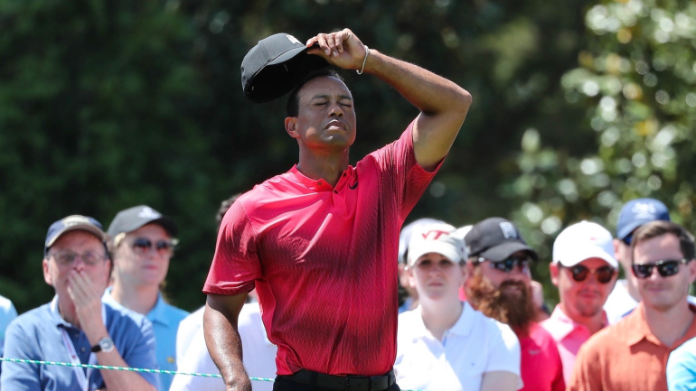tiger woods score  final round a stumble for woods at 2018