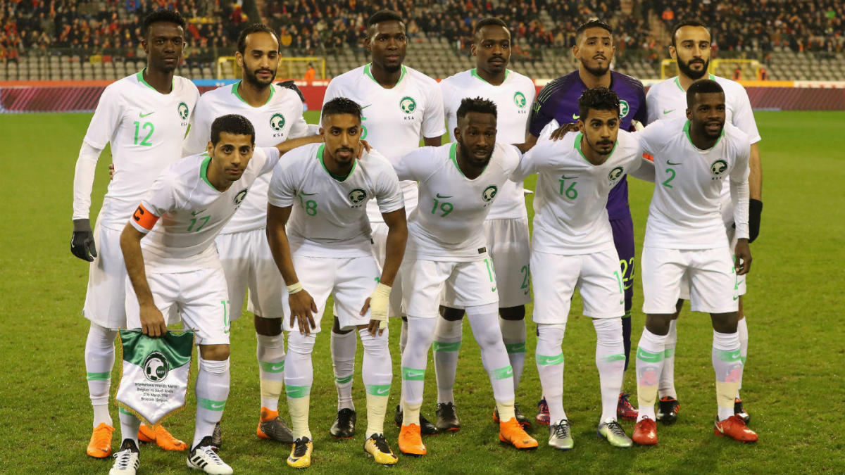 official photos 30cd5 aea16 World Cup: Saudi Arabia team safe after airplane scare ...