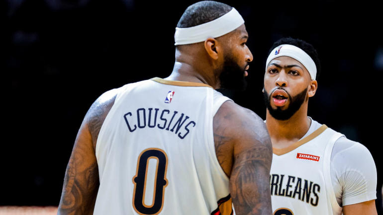 b66e36944 Pelicans  Anthony Davis was  a little shocked  by DeMarcus Cousins signing  with the Warriors