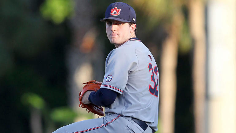 2018 MLB Draft: Tigers select Auburn's Casey Mize with the No. 1 overall pick