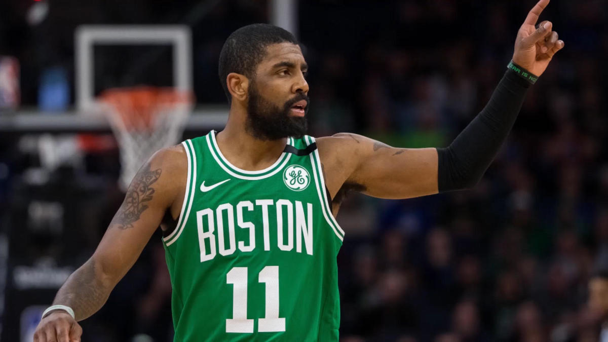 1614f5ca08 Kyrie Irving verbally commits to Celtics, sets up Boston for potential  half-decade (at least) of title runs - CBSSports.com