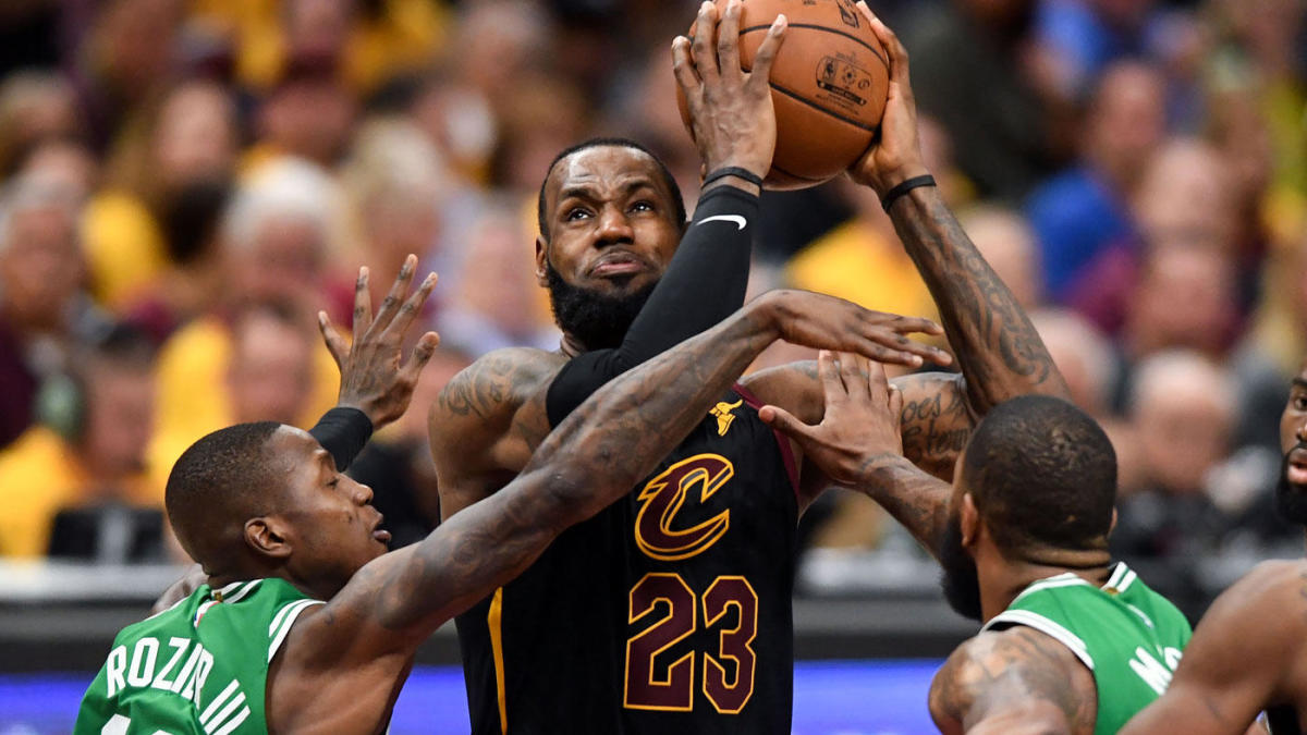bbcf89850bdd LOOK: LeBron summons power of WWE's Undertaker to help stay alive in NBA  Finals - CBSSports.com