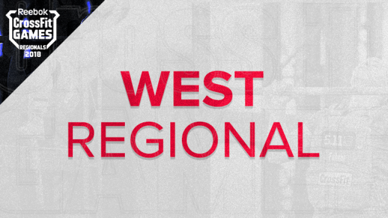 a818af52d6c27 Watch the 2018 Reebok CrossFit Games West Regional  TV