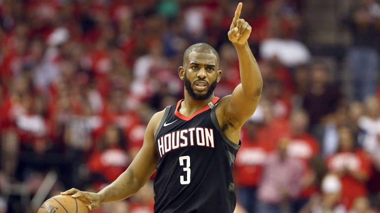 6e364a6a7c2 NFL Playoffs Tracker 2018: Chris Paul of the Rockets leaves for Game 6;  Kevin Love & # 39; Pulls Up & # 39; for Game 7