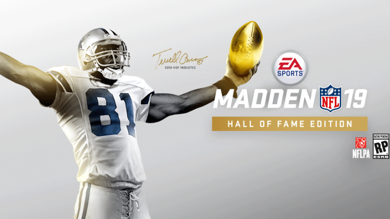 61618f33c LOOK  Terrell Owens on Madden cover in Cowboys uni