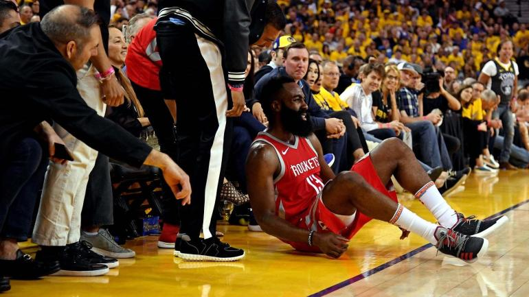 a2070d283f4a Warriors Game 6  James Harden had zero free throws in entire second half -  CBSSports.com
