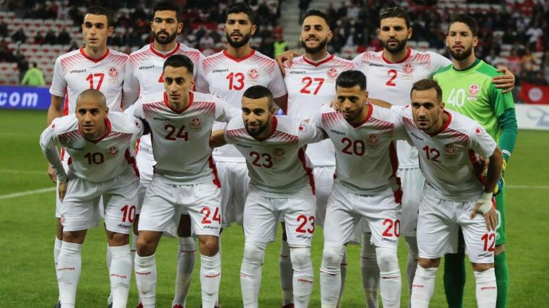 Tunisia at the 2018 World Cup  Scores 4a7d7e2f8