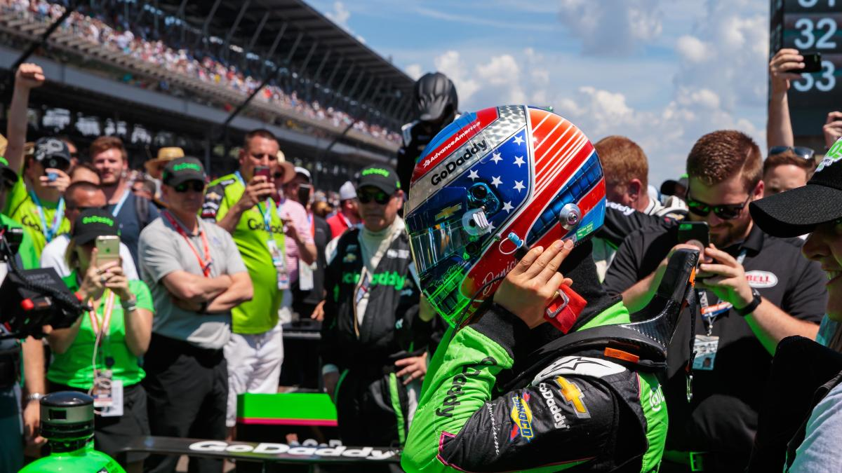 2018 Indy 500 Results Danica Patrick Crashes Out Of Race