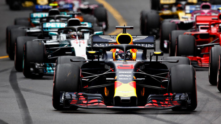 2018 monaco f1 grand prix results daniel ricciardo wins from pole lewis hamilton finishes. Black Bedroom Furniture Sets. Home Design Ideas