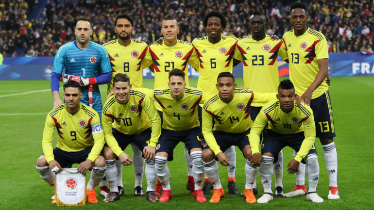 9314993eea2 Colombia at the 2018 World Cup  Schedule