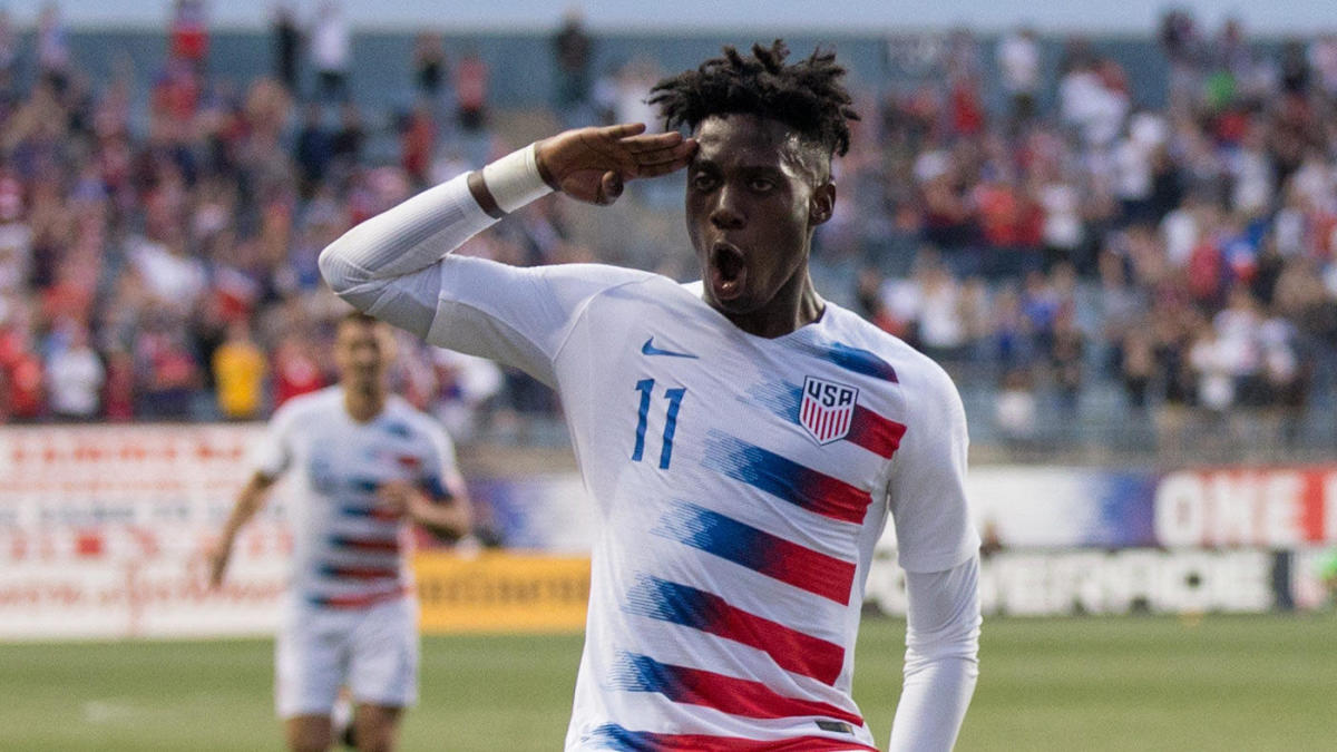 FIFA U-20 World Cup 2019: Timothy Weah sends USA to knockout stage