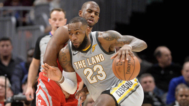 d8207a14784 NBA rumors  Chris Paul is already recruiting LeBron James to join Rockets -  CBSSports.com