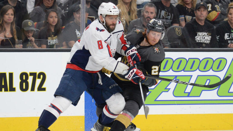 821c2b918e4 NHL Playoffs 2018  Capitals win Game 2 to even Stanley Cup Final with  Golden Knights