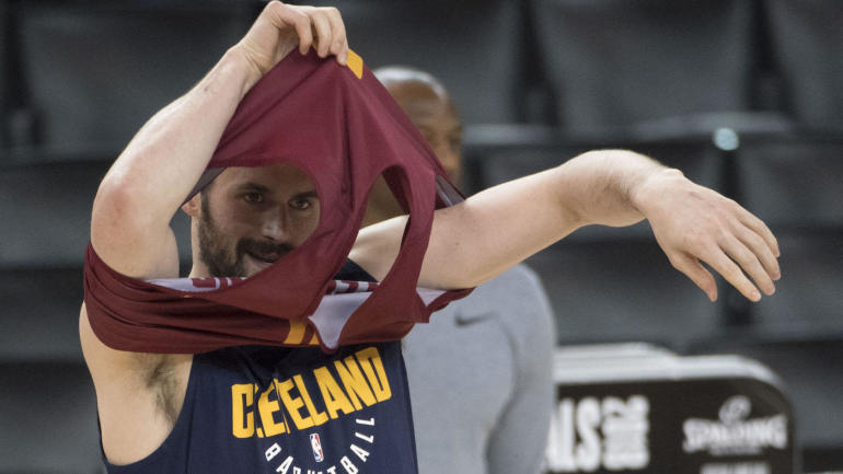 Warriors vs. Cavs: Kevin Love will play NBA Finals Game 1 after clearing concussion protocol ...