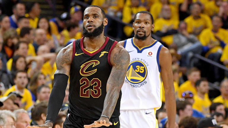 cddcb7d56da Warriors  LeBron James first player in NBA history to score 50 points in  Finals game and lose - CBSSports.com