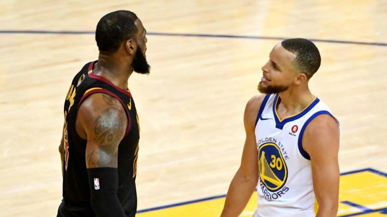 2018 NBA Finals: Warriors vs. Cavaliers Game 1 score ...
