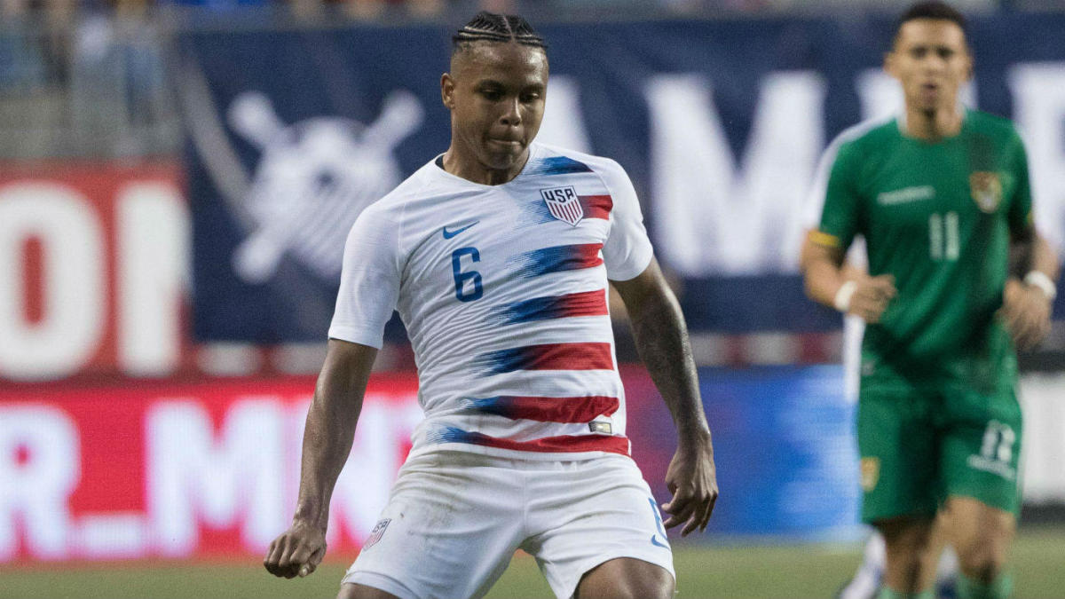 86a0a69ff6c Missing the World Cup is a letdown for USA, but Weston McKennie is leading  a new wave of young stars into the future - CBSSports.com