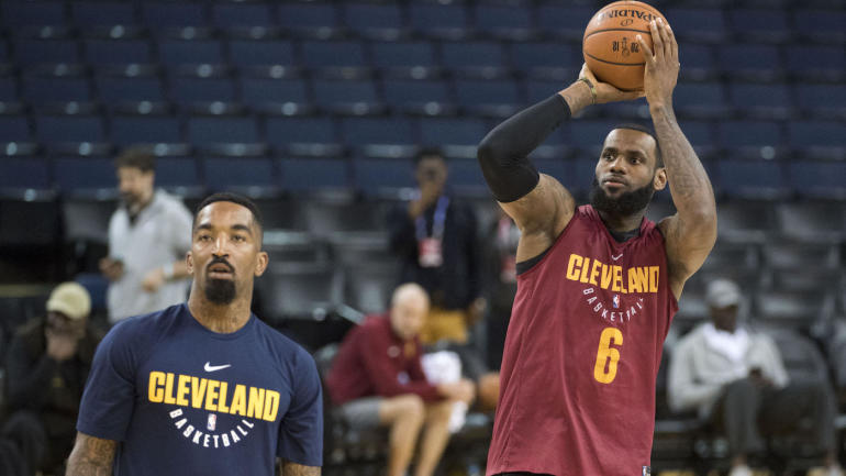 2904e0cce9d3 NBA Finals  Cavs  J.R. Smith changes stance on how he remembers late Game 1  lapse - CBSSports.com