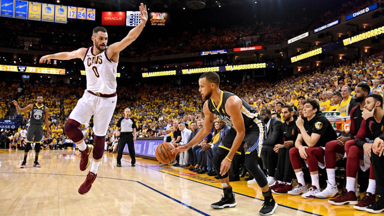 Warriors' Stephen Curry sets NBA Finals record with nine 3-pointers in Game 2 vs. Cavaliers ...
