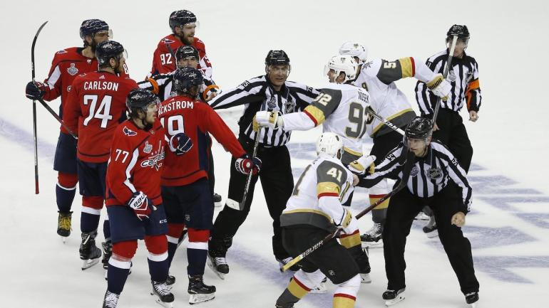 NHL Playoffs 2018 TV schedule  Capitals vs. Golden Knights channels ... d85b8b11799