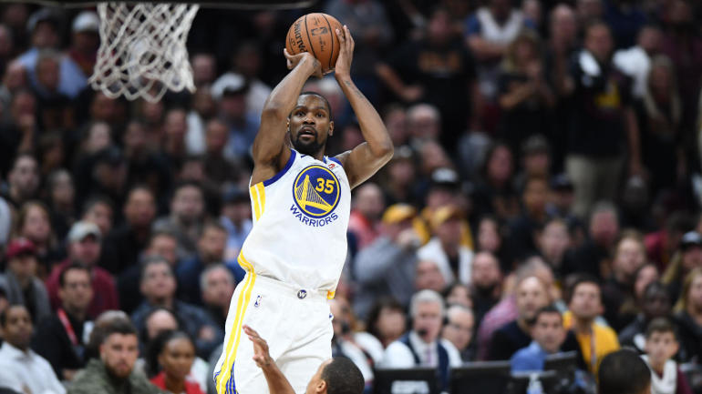 b9719182f46b NBA Finals  Kevin Durant steps up when Stephen Curry struggles to give  Warriors a 3-0 lead vs. Cavs - CBSSports.com